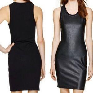 Wilfred Free Behati Vegan Leather Front Dress